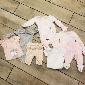Newborn 6 girl piece bundle!!!